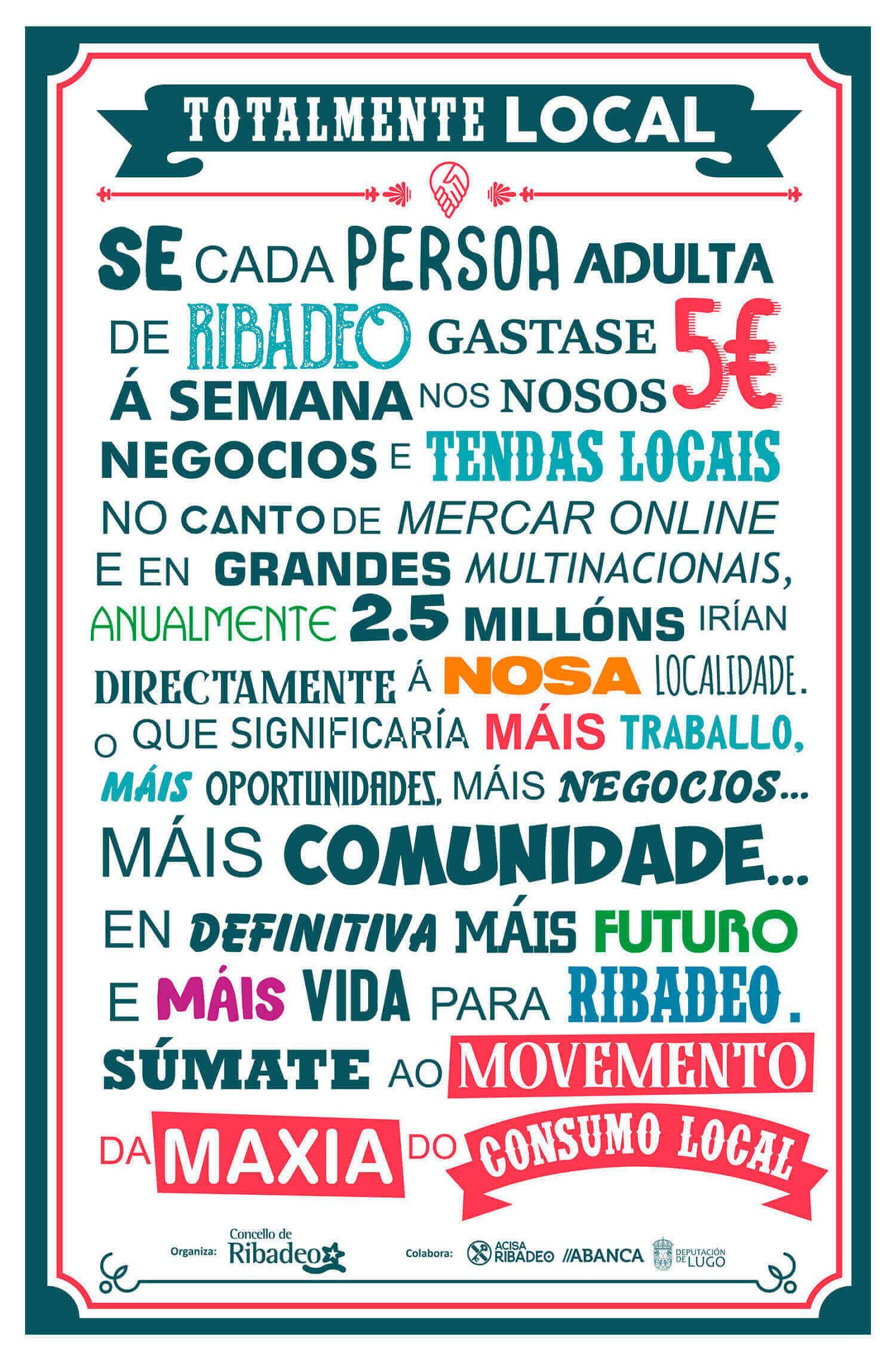 Manifesto pancha 2020 Ribadeo moeda